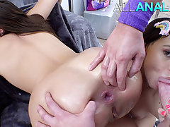 ALL ANAL Gia with an increment of Violet are valid buttsluts