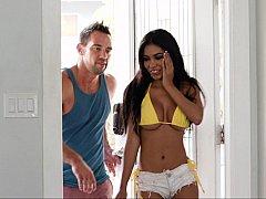 Busty Latina wants his big cock