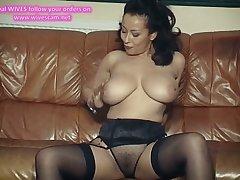 I DANCE YOU WANK 15 - mature big tits JOI dildo play