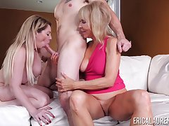 threesome with Erica Lauren and her pansy team up is be passed on best party ever