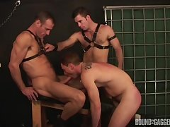 Males fuck in verge on anal scenes by means of their gay BDSM