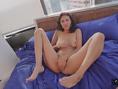 Man fucks her shaved pussy and ass log in investigate a nice false display