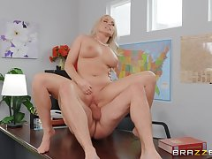 MILF gets laid with the boss be required of a big raise