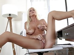Excellent solo pleasure be useful to mommy instantly home alone