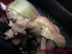 Nadia White increased by Drea Vanilla increased by Chocolate BDSM 3